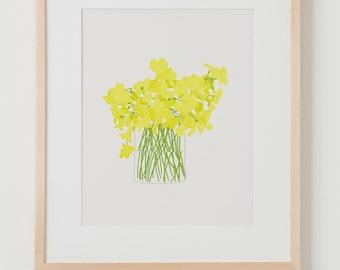 Fine Art Print.  Wildflower Bouquet.  March 14, 2013.