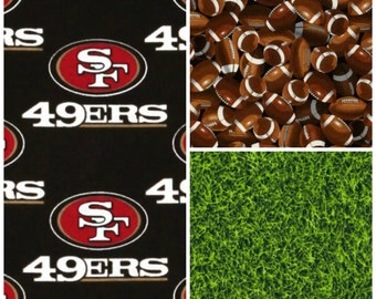 Crib Bedding 49ers Football Baby Boy Crib Bedding Bumpers Sheet Blanket Skirt Forty Niners