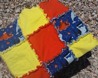 Finding Dory Rag Quilt