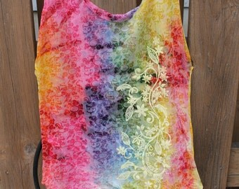 Medium Hawaii Tie Dye Tshirt Bag