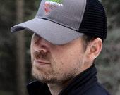 Earthworker Snapback in Grey Eco Trucker Organic Recycled Cap