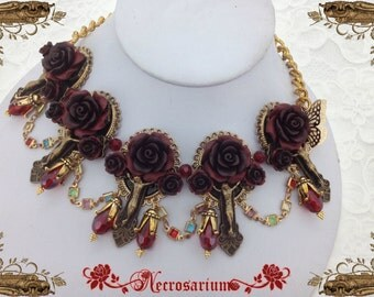 Vampire's Requiem Collar - Red