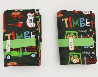 Flannel Pillowcases Camping Kids Lumbermen Bedding Pillow Boys Girls Cotton Adoption Fundraiser