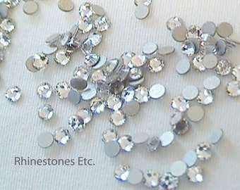 Crystal 7ss Swarovski Elements Rhinestones Flat back 1 gross