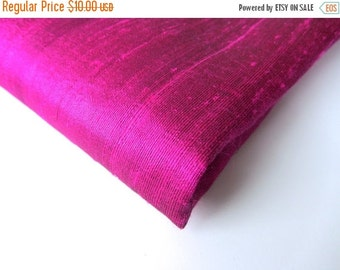 ON SALE pink raw super shinny classy silk India fabric nr 325 REMNANT