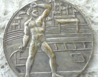 1960 Rome Summer Olympics Medallion