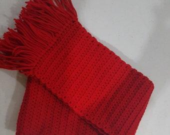 Handmade:  Crochet Scarves