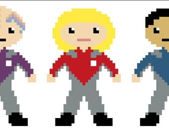 Galaxy Quest Pixel People