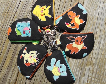 Blind Bag, Mystery Bag, Mini Pouch, Earbud Pouch, Coin Purse, Pokemon Mystery Bag