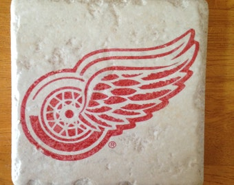 Detroit Red Wings Coasters Set of 4