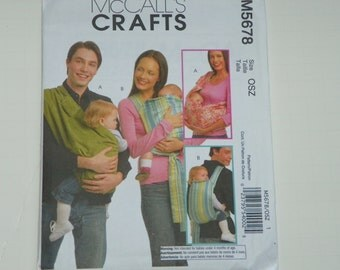 Baby Carrier Pattern by McCalls 5678