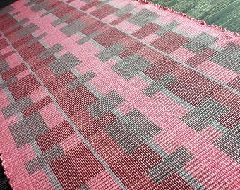 30 x 68 handwoven rug