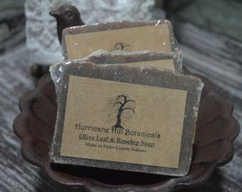 Olive Leaf & Rosehip Handcrafted Soap