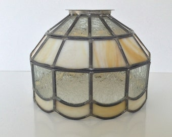 Tiffany Style Stain Glass Lamp Shade, Leaded Stain Glass Lamp Shade ... Shade Only