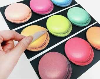 MEMO it.Post it notes.sticky notes  macaroon style ONLY FREESHIPPING