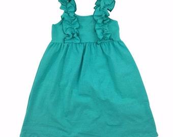 Icing Ruffle Tank Dress-Preorder