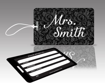"""2 MRS """"SMITH"""" Luggage Tags"""