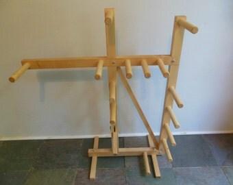 Floor inkle loom