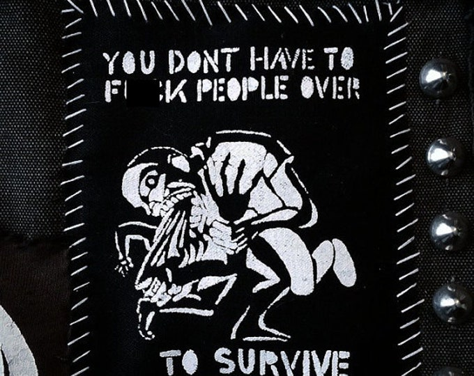 To Survive Patch (Mature)