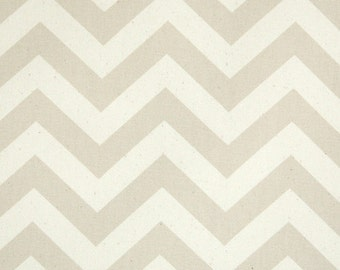 Premier Prints,Chevron Fabric ,ZigZag natural CreamTan Fabric - Upholstery Fabric - Home Decor Fabric - Cotton Fabric - Natural and Khaki