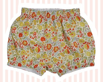 Liberty of London Bubble Shorts   Mini Bloomers for Baby