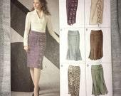 Uncut VOGUE Easy Options Skirt Pattern No. V8129 - Sizes 12-14-16