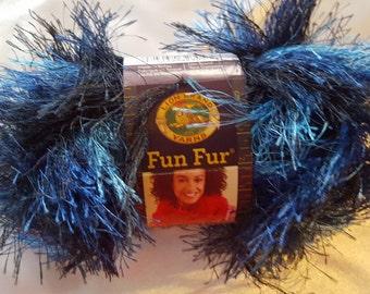 Lion Brand FUN FUR Yarn OVERSTOCK - 57 Yards