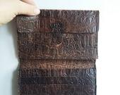 Vintage Distressed Leather Wallet