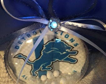 Detroit lions ornament