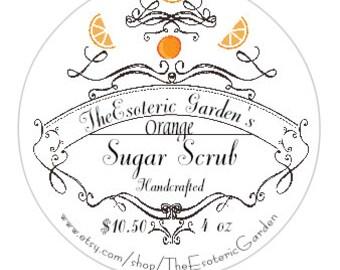Orange Sugar Scrub 4oz
