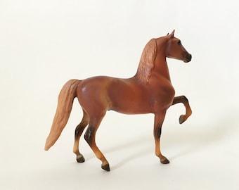 Vintage Breyer Horse Model, Morgan Stallion Little Bits/Paddock Pals Chestnut Model Horse