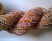Handspun Yarn: 2 Ply with Metallics