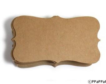 Paper Business cards (100) Kraft paper CK04 - Blank