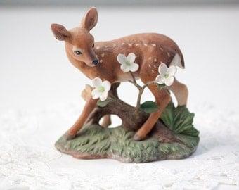 Lenox Afternoon Splendor White-Tailed Deer Figurine