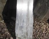 """16"""" Selenite fireplace log FREE shipping"""