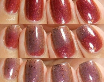 Set Fire to the Rain Color Changing Nail Polish