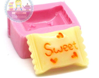 Sweet Candy Cabochon 18mm Bakery Silicone Flexible Push Mold 163s BEST QUALITY
