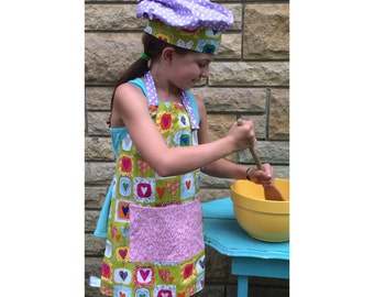 Jr. Apron/Chef Hats/Kid Apron