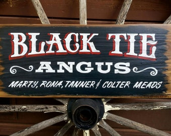 CUSTOM SIGNS.  Hand Lettered on reclaimed boards.