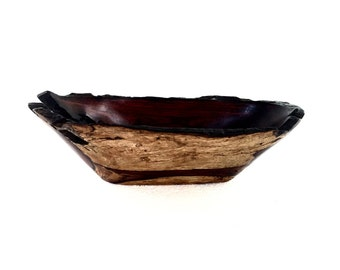 Wood Tray No.160427-Cocobolo Natural Edge
