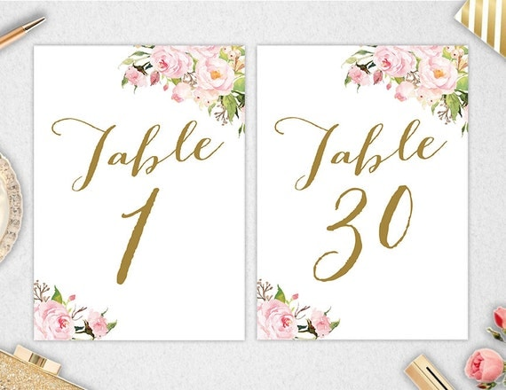 This is a photo of Insane Free Printable Table Numbers 1 30