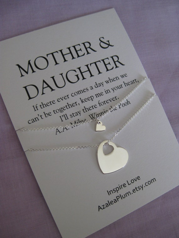 Gift From Mother To Daughter Income Tax : ... Mother of Bride Gift. 70th Birthday Gift. Mom Daughter Jewelry. Mom