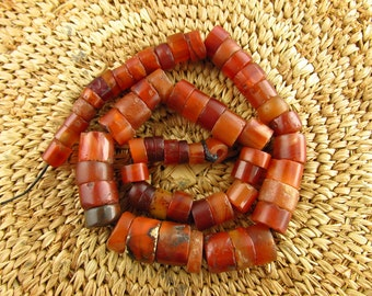 Antique Chert Stone Beads