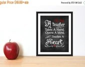 ONSALE Teacher Appreciation Gift Print Teacher Christmas Gift