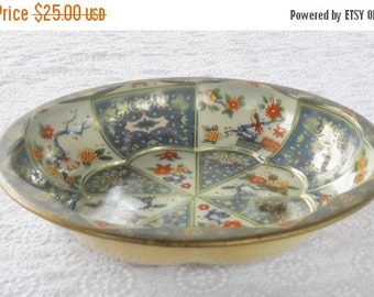 On Sale Vintage Shabby Chic/Cottage Style Daher Metal Bowl