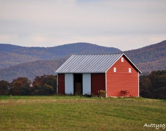 Fall, Mountains, and Barn Photography