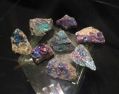 Large Peacock Ore - Bornite - 1.5 inch raw Peacock Iridescent Copper Ore