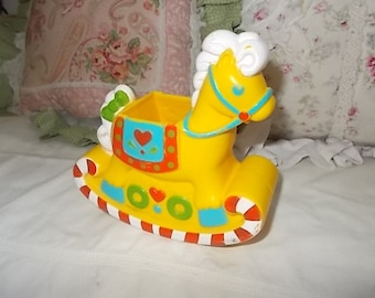 Playskool  Doll Rocking Horse Yellow,Red and Blue Sweet / Not included in Coupon Sale