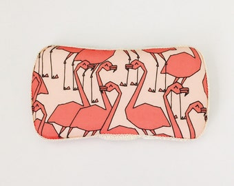 Boutique Style Travel Wipe Case | Wipe case | Flamingo | Travel Case