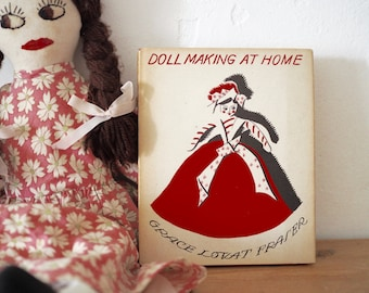 Vintage Doll Making Book